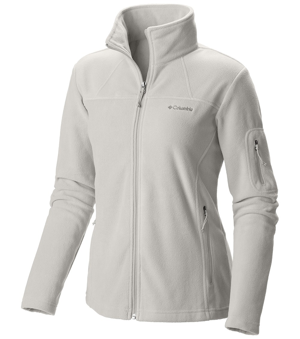 d95c897b164 Columbia Womens Fast Trek Ii Full Zip Fleece Jacket Sea Salt