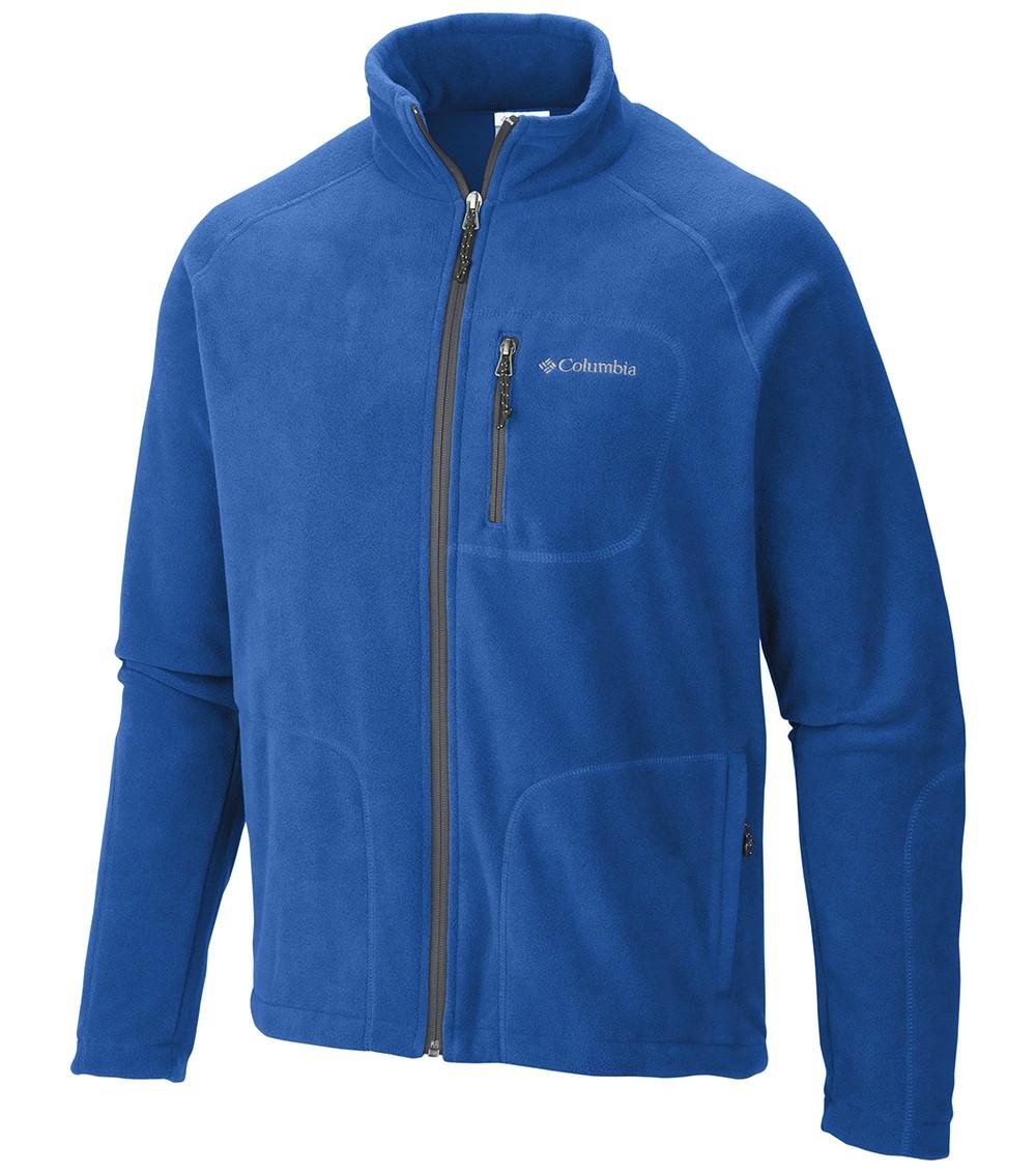 Columbia Mens Fast Trek Ii Full Zip Fleece Jacket Super ...
