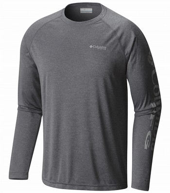 PFG Terminal Tackle L/S Heather Shirt