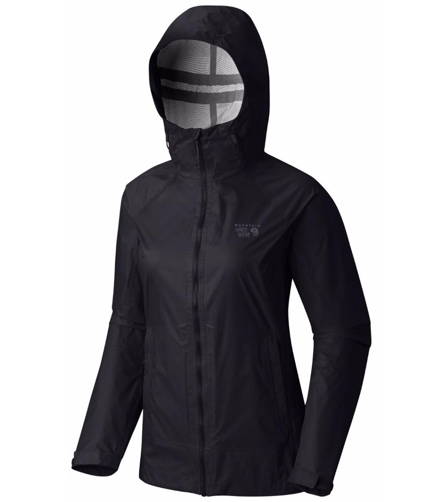 Mountain Hardwear Womens Exponent Waterproof Jacket Black