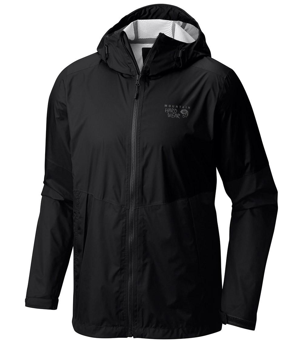 Mountain Hardwear Mens Exponent Waterproof Jacket Black