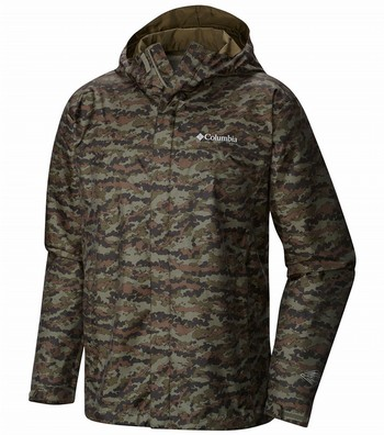 Watertight Print Jacket