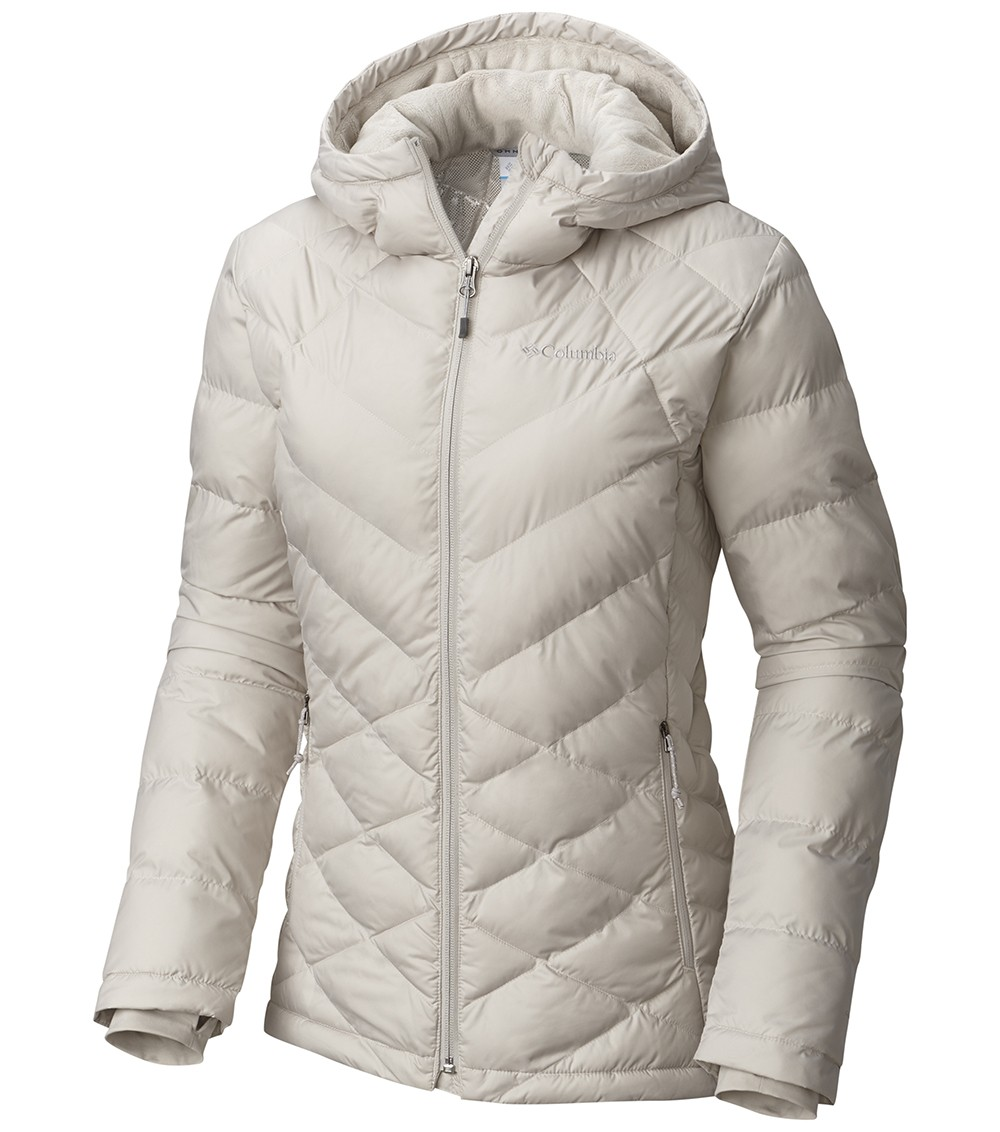 549fdd4eb44 Columbia Heavenly Insulated Hooded Jacket - Womens Light Cloud