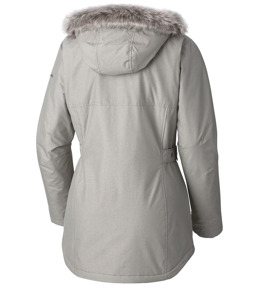 544f12e2091 Columbia Womens Penns Creek Jacket Flint Grey