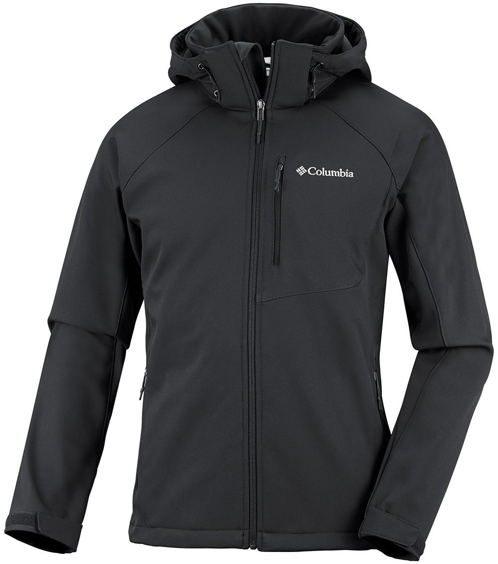 Columbia Mens Cascade Ridge Ii Softshell Jacket Black